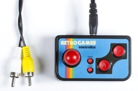 Retro TV konzol 200 játékkal, RCA kábellel