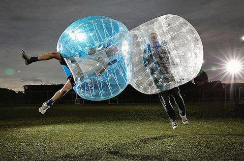 Izgalmas buborékfoci 8 fős társaság részére