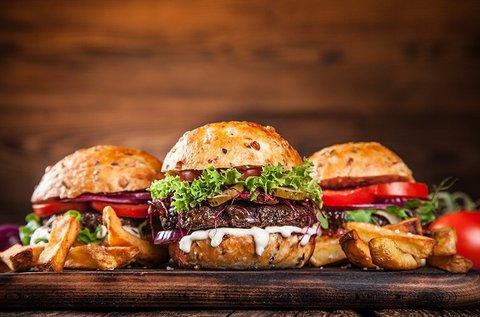 Választható olasz vagy ázsiai hamburgerek