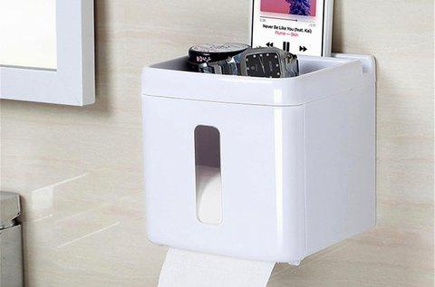 Többfunkciós wc papír tartó
