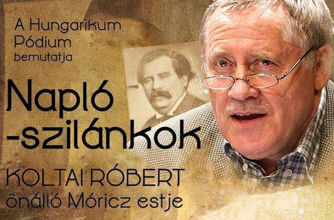 Móricz Zsigmond est Koltai Róbert főszereplésével