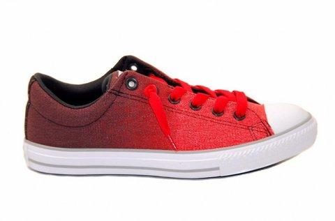 Converse gyerek cipő piros színben