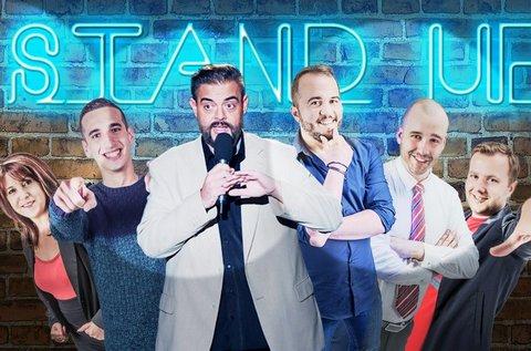 Stand up comedy live est választható vacsorával