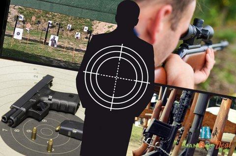 50 lövéses élménylövészet 10 választható fegyverrel