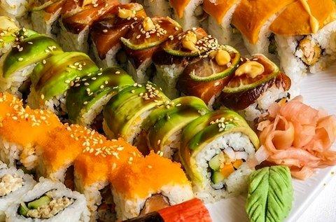 30 db-os sushi válogatás makival és nigirivel