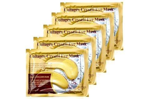 10 pár kollagén szemmaszk 24 karátos arannyal