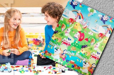 Gyermek játszószőnyeg számokkal, betűkkel