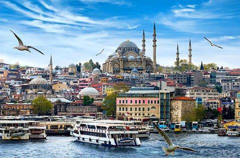 Élménydús városnézés Isztambulban repülővel