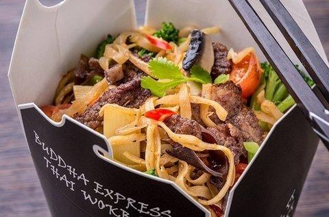 Választható autentikus thai menü szénsavas üdítővel