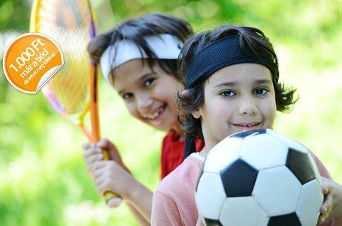 5 napos napközis sporttábor 5-18 éves gyerekeknek