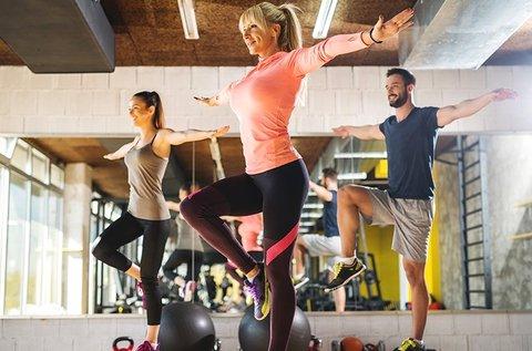 Havi korlátlan fitness bérlet 20 féle óratípusra