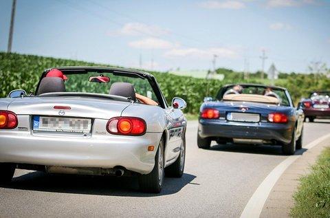 Kabriózz egész hétvégén egy Mazda MX5-össel!