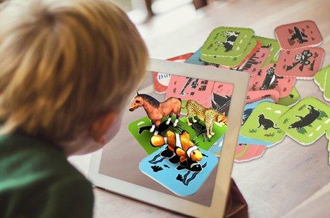 DIgoo 3D interaktív oktató kártyák AR technológiával