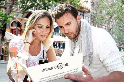 Urban Code rejtvényfejtő nyomozás 2-6 fő részére