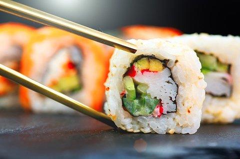 Különleges sushi ebéd menük a Gozsdu udvarban