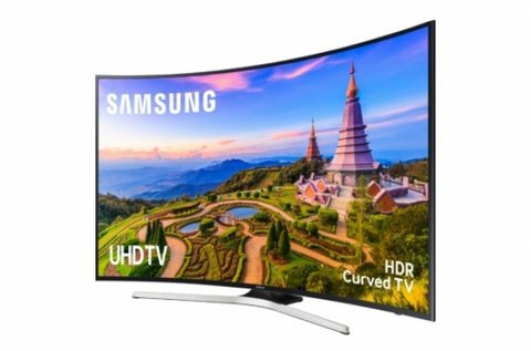 Samsung hajlított Ultra HD 4K LED Smart TV