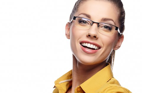 Komplett egyfókuszú szemüveg kerettel