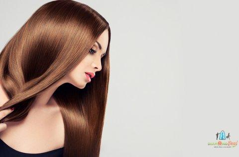 4 lépéses tartós keratinos hajszerkezet javítás