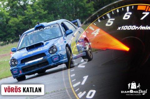 Subaru Impreza rallycross vezetés 3 körön át
