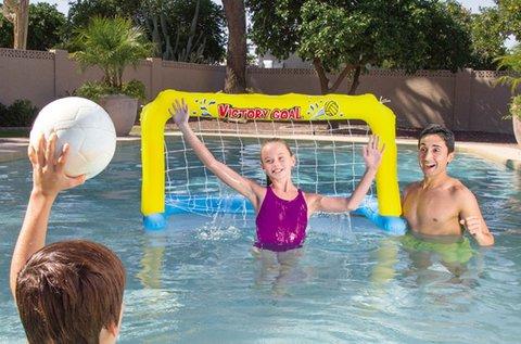 Felfújható labdajáték hálók medencébe