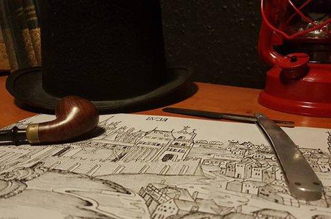Mr. Szfinx nyomozós túra a Budai Várban