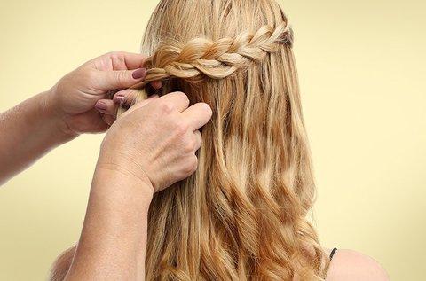 Divatos hajfonás készítés