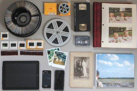 4 db videokazetta digitalizálása