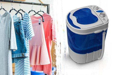 Adler hordozható mini mosógép és centrifuga