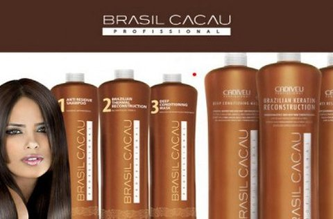 Eredeti Brazil Cacau tartós hajegyenesítés