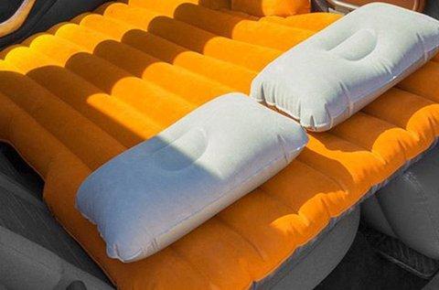 Autós felfújható ágy kompresszorral