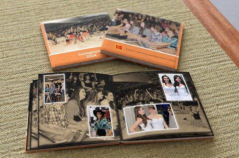 20x20 cm-es, 30 oldalas fine art panoráma fotókönyv