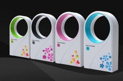 Lapát nélküli ventilátor több színben