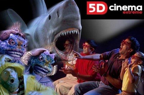 5D Cinema belépő 2 fő részére