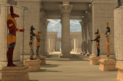 Éjszaka az egyiptomi múzeumban szabadulás