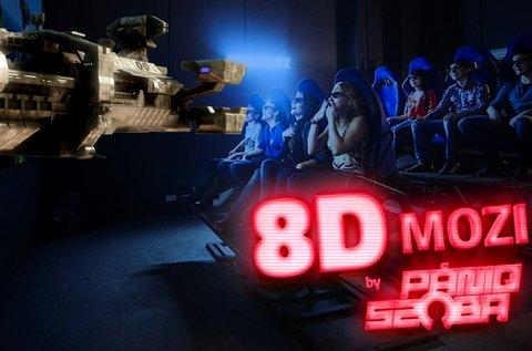 8D mozi belépőjegy a Lurdy Házba