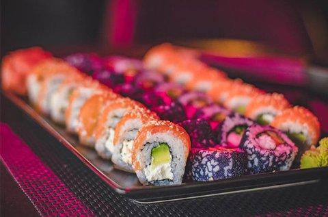 30 db-os sushi bőségtál makikkal és nigirikkel