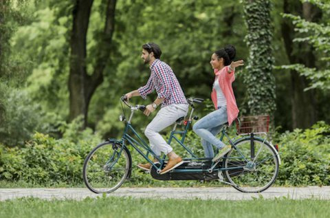 2 órás tandem kerékpártúra Szentendre környékén