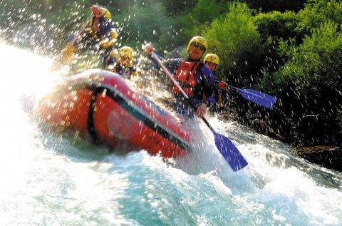 Szlovéniai kalandtúra raftinggal és kanyoninggal