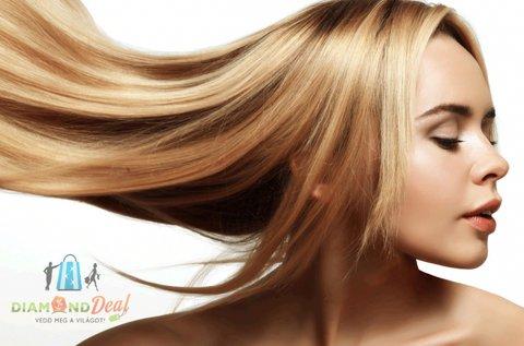 Keratinos hajegyenesítés egészségügyi vágással