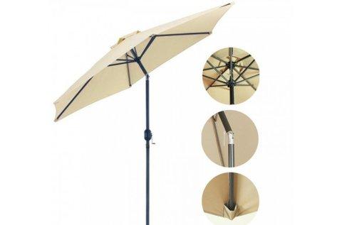 Extra nagyméretű stram dönthető napernyő