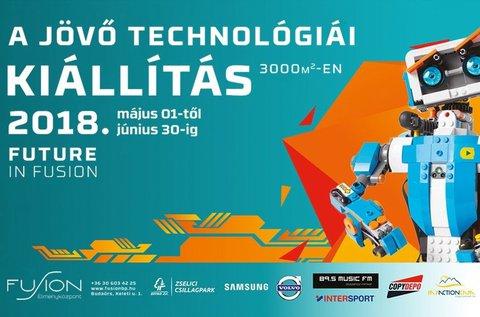 A jövő technológiái kiállítás és játszóház belépő