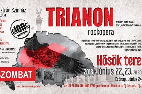 Belépő a Trianon című rockoperára