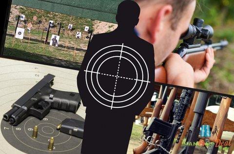 50 lövés akár 10 választható 9 mm-es fegyverrel