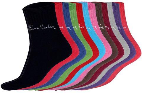 12 db-os Pierre Cardin színes női zokni csomag
