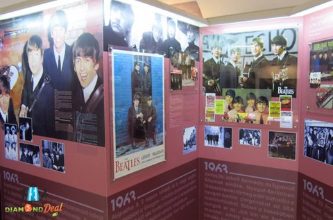Belépő az Egri Road Beatles Múzeumba