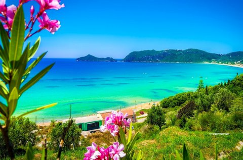 8 napos tengerparti nyaralás Korfun repülővel