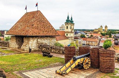 Pihenés Egerben a város felett