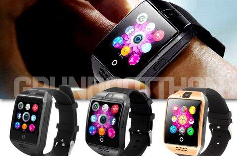 Egyedi Q18 Smart watch hajlított okosóra