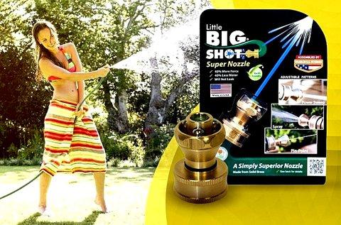 Big Shot magasnyomású locsoló konverter rézből