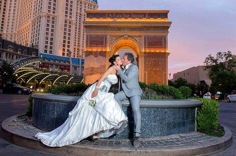 Esküvő Las Vegas-ban szervezéssel és fotózással